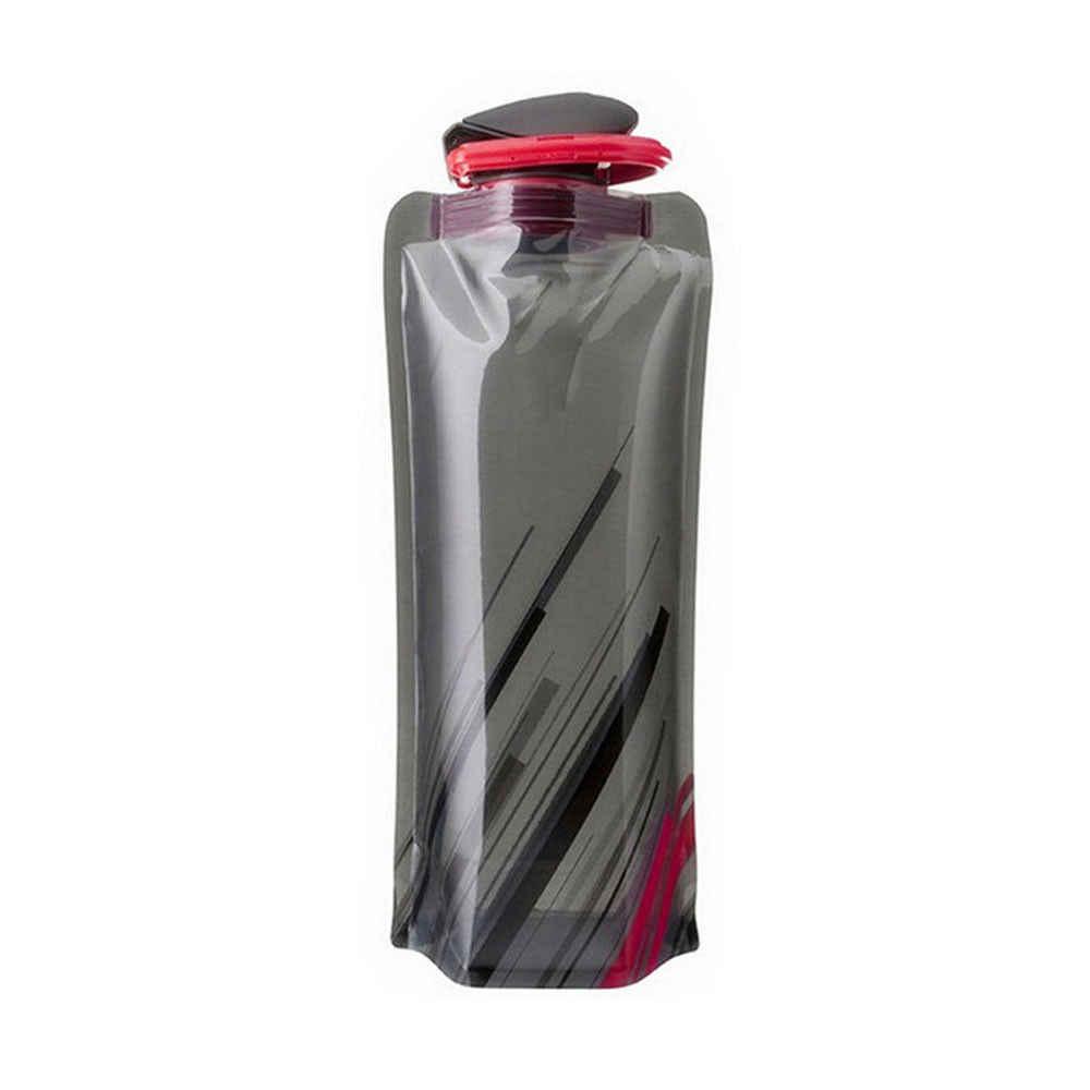 Garrafa de água reutilizável viagem ao ar livre esporte fresco chaleira copo moda nova conveniente portátil dobrável recipiente 700ml