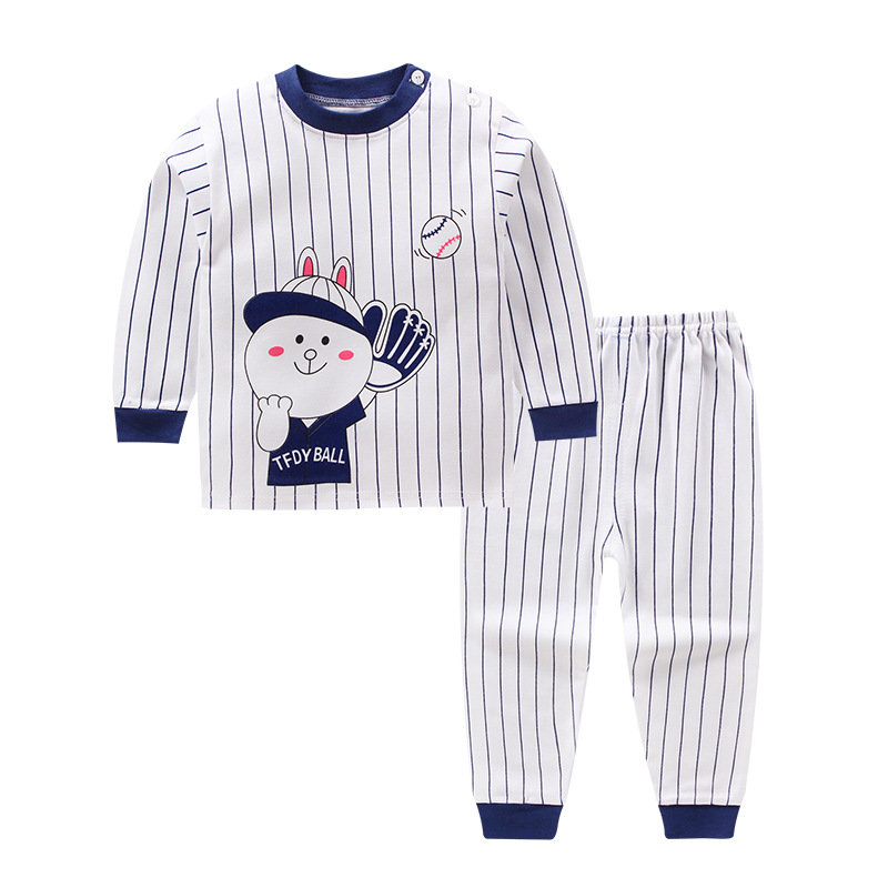 Baby Boys Clothing Long Sleeve Girls Clothes Sets T-shirt+pants Autumn Winter Tops  Baby Boys Suit Shorts For 1 2 3 4Year