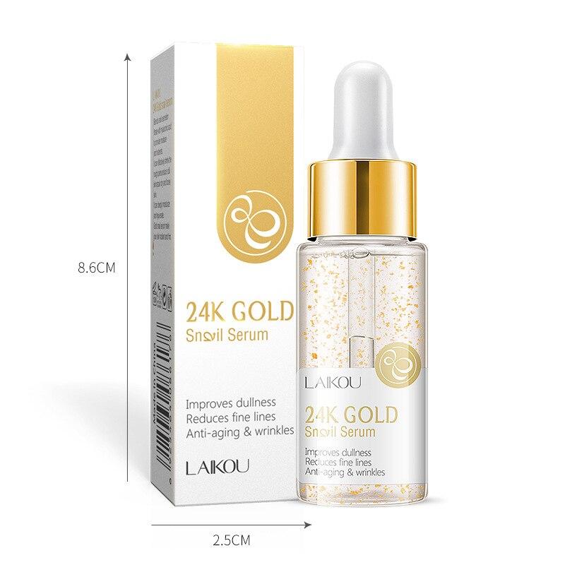 15ml 24 k ouro creme facial clareamento hidratante caracol soro caracol essência 24 k ouro dia cremes & hidratantes cuidados com a pele tslm1