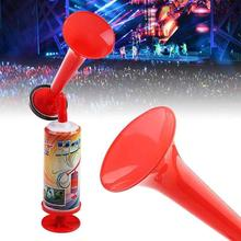 Вентилятор Ручной Push Air Horn Черлидинг Спортивное состязание Cheer Club Труба Детская игрушка насос футбольные игры громкий динамик