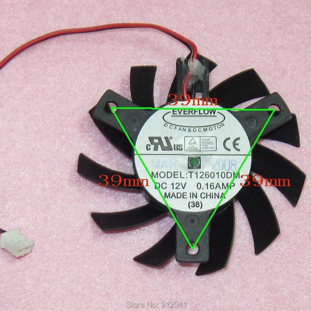 R04a T126010DM DFC601012L 55 мм графика/Видеокарта VGA кулер вентилятор Замена 39 мм 12 В 0.16A 2Pin для ATI X1600 2600 X800|vga cooler fan|cooler fanvga cooler | АлиЭкспресс