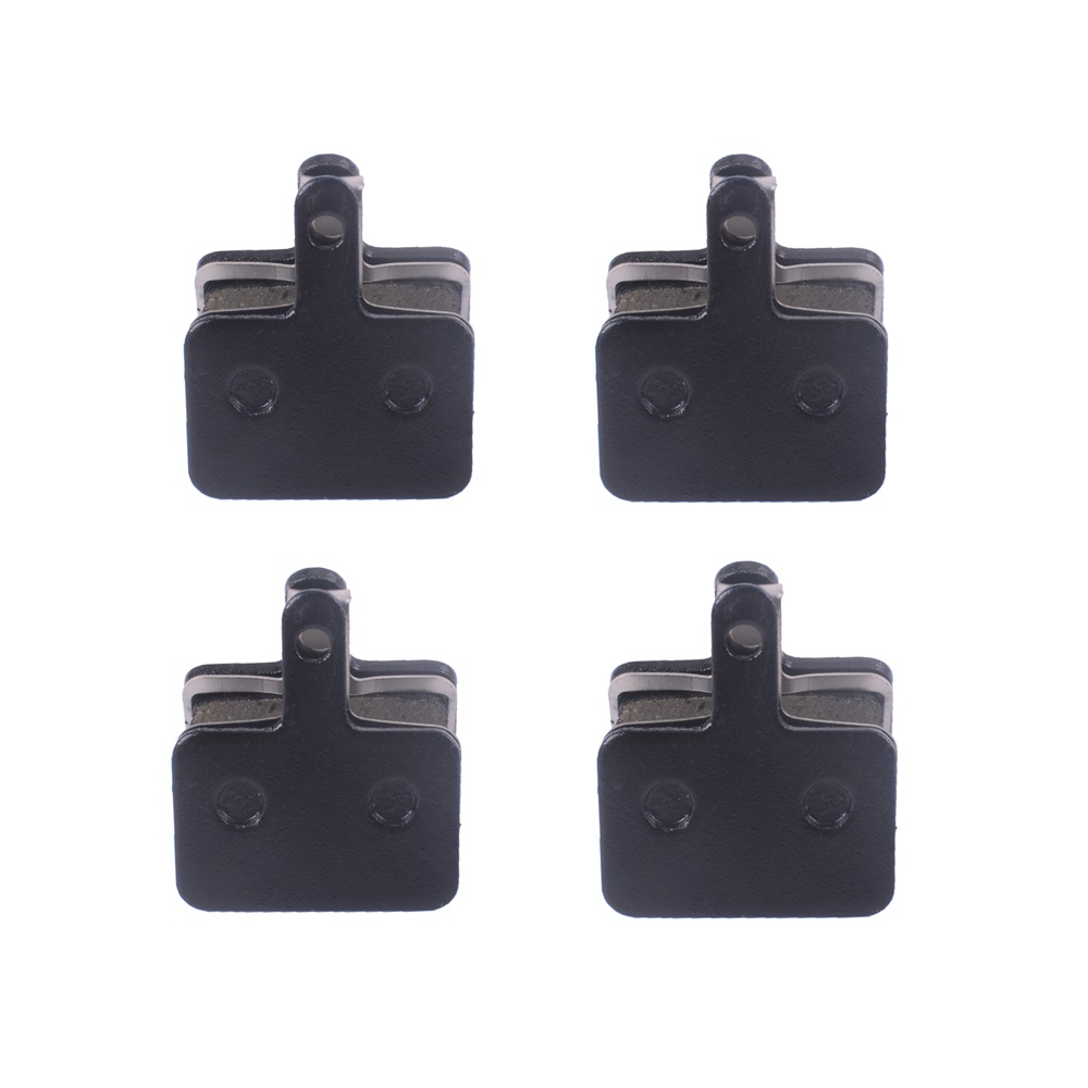 4 Pairs MTB Mountain Bike Bicycle Parts Semi-metallic Brake Pads For <font><b>SHIMANO</b></font> M416 447 446 455 <font><b>355</b></font> 395 315 TEKTRO HDM 290 300 image