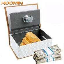 Money-Saving-Box Banks Safe-Lock Hoomin-Book Coin-Piggy Hidden-Secret-Security Creative