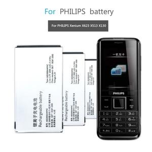 For PHILIPS Xenium X501 X513 X523 X130 X623 X3560 CTX130 CTX523 CTX513 Mobile Phone Battery AB2000AWMC AB2000FWML 2000mAh(China)