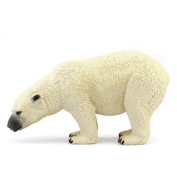 Oryginalne oryginalne dzikie zwierzę sealife rysunek niedźwiedź polarny model figurka zabawki dla dzieci dzieci prezent na boże narodzenie dekoracja domu samochodu tanie i dobre opinie NewBiFo Żołnierz gotowy produkt Żołnierz zestaw Żołnierz części i podzespoły elektroniczne Wyroby gotowe Unisex