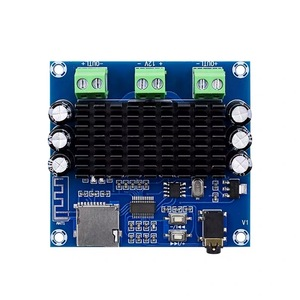 Image 4 - TDA7297 2*15W Bluetooth 5.0 Class AB Amplifier Board Stereo Dual Channel AUX / Bluetooth / TF Card Amp