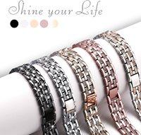 Cinturini Bling compatibili Apple Watch Band 38/40/42/44 serie iWatch 6 5 4 3 2 1 SE, gioielli eleganti cinturino da polso in metallo diamante