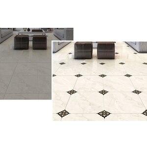 Image 5 - 21pcs עצמי דבק PVC קרמיקה אריחי מדבקות עמיד למים קיר מדבקת אמנות אלכסוני רצפת מדבקות מדבקה דקורטיבית