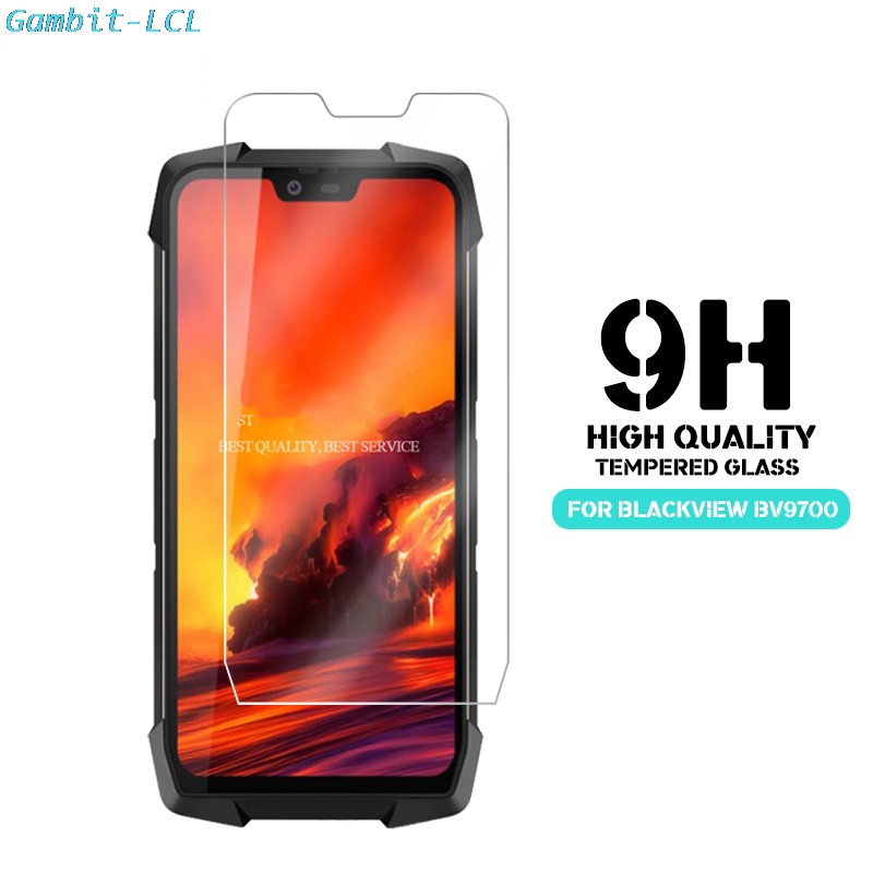 2PCS 2.5D 9H Premium Tempered Glass For Blackview BV9700 Pro Screen Protector Protective Film ON Blackview BV9700Pro COVER
