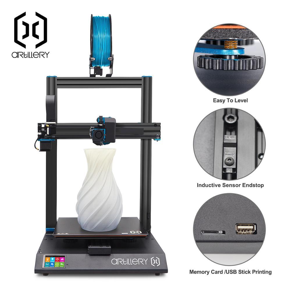 Imprimante 3D Sidewinder X1 SW-X1 300x300x400mm grande grande taille haute précision double Z axe TFT écran tactile