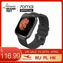 70mai akıllı saat 70mai Saphir izle Bluetooth GPS spor nabız monitörü 5ATM direnci çağrı hatırlatma 70mai Smartwatch APP