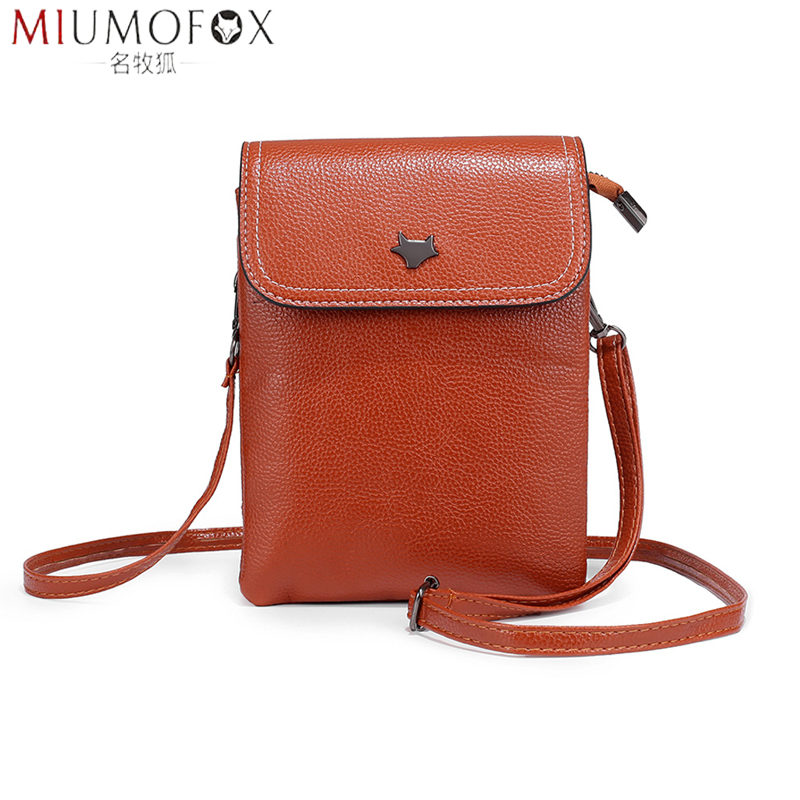 Envelope Mobile Phone Bag Fashion Simple Pu Leather Women Small Bags For 5.0/5.5/6.3/6.4/7 Inches Phone Pouch Flap Messenger Bag