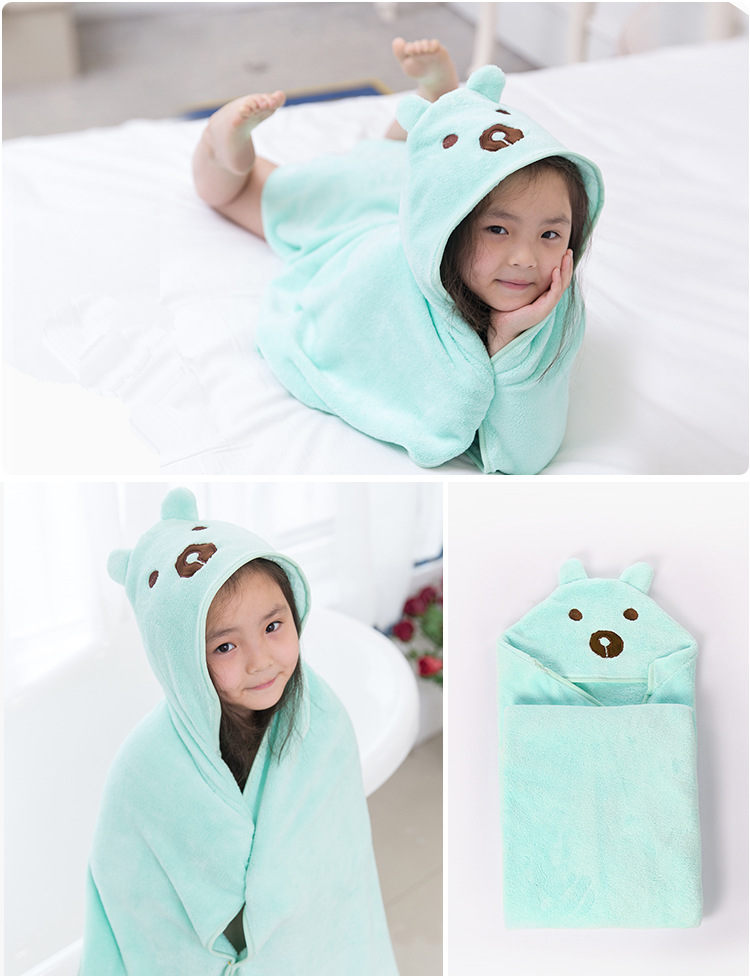 Hot Baby Towel Baby Washcloth Organic Baby Bath Towel Extra Soft And Thick Newborn Hooded Towel Baby Wash cloth