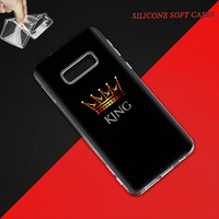galaxy note Her King Case for Samsung Galaxy S10 5G S10e S9 S8 Plus S7 Note 10 8 9 J4 J6 2018 M30s M10s TPU Phone Coque Bags (5)