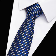 Neckties 7 cm gentlemen's fashion casual gravata masculina lotes Classic Tie Solid Color Plain Silk Men's Necktie