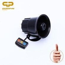 Waluta 12V Allarme Auto Moto 3 Tone syrena głośny głośnik klakson Sirene Policia Moto pogotowia alarm samochodowy głośniki dźwiękowe