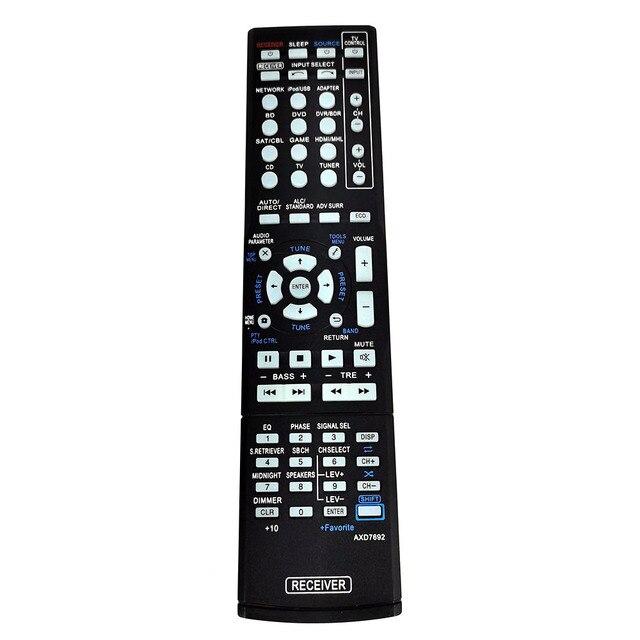 New AXD7692 For Pioneer AV Receiver Remote Control VSX 823 K VSX 828 S VSX 528 S VSX 60 VSX 1125 K VSX 43 VSX 1012 K