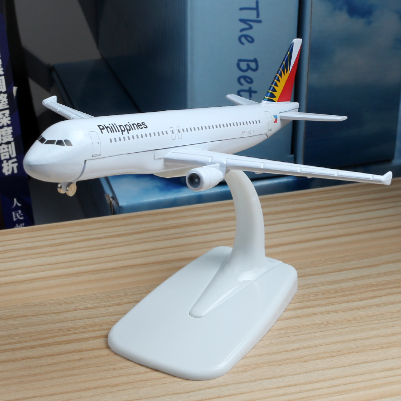 2020 Popular Airplane Model Philippine Air Airbus A320 16cm Airplane Models Aircraft Model Hobby Collector's Favorite Collection image