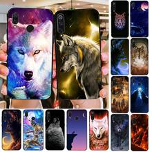 Phone Case Wolf Animal Custom Photo Soft fundas Phone Case for Xiaomi 8 9 se Redmi 6 6pro 6A 4X 7 note 5 7(China)