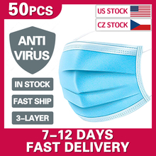 Mouth Masks Anti Dust Face Mask Disposable Mask Filter 3-laye Anti-Dust Meltblown Cloth Masks Earloops Masks DMMASK kimberly clark childs face mask w stretchable earloops 75 box latex free