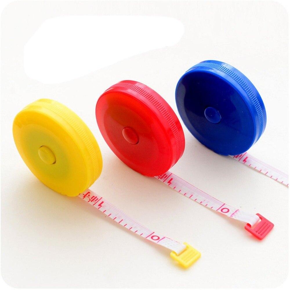 Meter Ruler Automatic Retractable Tape Measure Multi-purpose Plastic Tape Measure Measuring Tape Small Tape