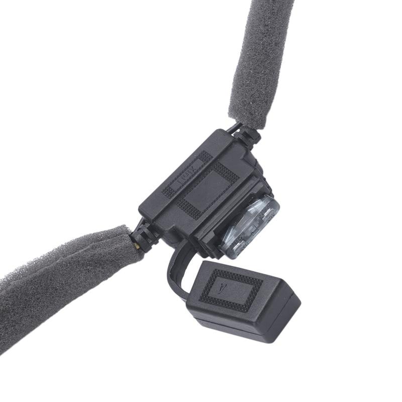 10W Auto Del Telefono Mobile Qi Pad di Ricarica Wireless Modulo Console Storage Box per Audi Q3 2013 2019 Auto accessori - 3