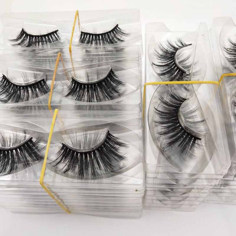 Buzzme  Wholesale 30 Pairs 29 Styles free shipping Eyelashes natural 3D faux mink eyelashes fake lashes long makeup extension