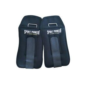 4kg réglable cheville poids fer sable sac poids sangles pour gymnastique exercice Fitness course protéger