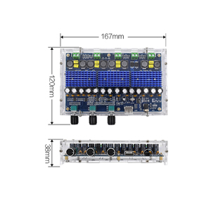 Image 2 - TDA3116D2 Bluetooth 5.0 Digital Amplifier Board Four Channel 2*100W Dual Bass 2*50W Dual Stereo Audio Amplifiers with Tone Sound