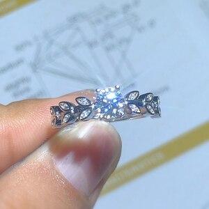 Image 2 - Neue Produkt Förderung Moissanite 0.5ct Härte 9,3, diamant ersatz, können getestet werden durch instrumente. Beliebte schmuck