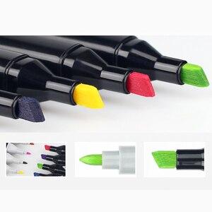 Image 4 - סקיצה מרקר עט סט Twin סמני עט מברשת ציור מנגה ארכיטקטורת עיצוב אספקת אמנות
