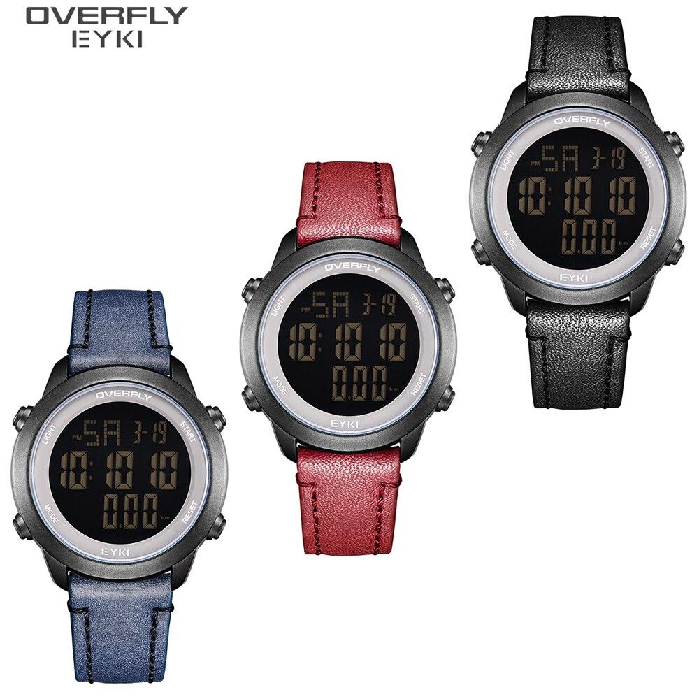 SANDA N58 новые мужские ЭКГ Смарт цифровые наручные часы женские умные лекарства напоминание сердечного ритма часы калорий Шаг наручные часы - 6