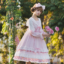 Miss Betty ~ Zoete Lange Mouwen Lolita Jurk Koninklijke Prinses Sailor Kraag Jurk