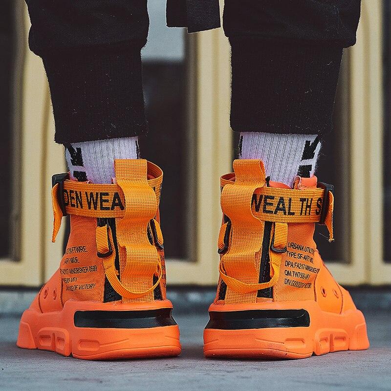 BIGFIRSE 남자 스니커즈 야외 Flyknit 통풍 트렌드 신발 남자 로퍼에 대한 새로운 Zapatos Hombre 패션 신발 남자 레이스 업