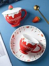 Cute Coffee Mug Personalized Small Luxury Ceramic Mug Girl Hand Painted Hot Chocolate Mugs Kawaii Cup Taza Personalizada Regalo