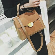 Torebka damska 2019 w nowym stylu Versitile Fashion torba na ramię torebka w stylu Retro półkole torba na ramię tanie tanio Others WOMEN S Handbag Solid Color Bag1052