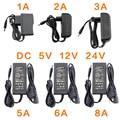 Адаптер питания, светодиодный адаптер питания с 12 в пост. Тока, 5 В, 6 в, 8 в, 9 В, 10 в, 12 В, 13 в, 14 в, 15 В, 24 В, 1 А, 2 А, 3 А, 5 А, 6 А, 8 А драйвер