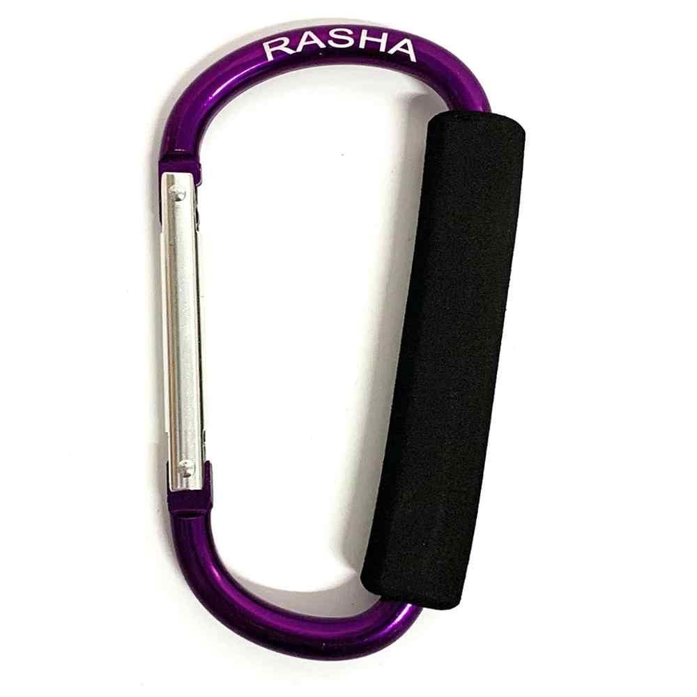 100% original RASHA Eve sponge 135mm * 9mmD gran mosquetón de aluminio vegetal picker patinaje zapato hebilla