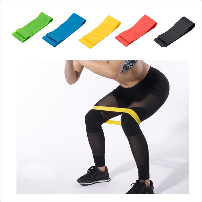 Thick Strong Fitness Rubber Bands Set Resistance Bands For Legs Long Yoga Man Arm Elastic Home Resistence Workout Bands Set