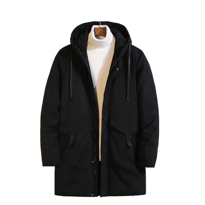 2020 Plus Size 10XL 8xl 7xl Mens Long Down Jacket Coat Brand New Male Casual Winter Down Parka Men Thick Down Jacket Overcoat