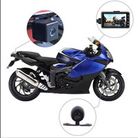3 1080P HD Motorcycle Camera DVR Motor Dash Cam with Special Dual track Front Rear Recorder Motorbike Electronics
