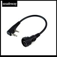baofeng uv 5r מכשיר קשר אוזניות אוזניות עבור KENWOOD Baofeng UV-5R BF-888s Retevis H777 (5)