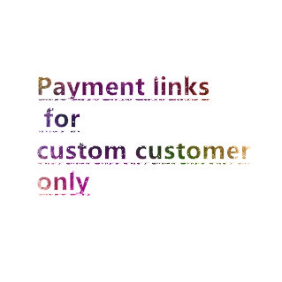 Visisap Custom items For Valued Customers Just for Payment Charge