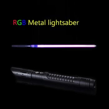 RGB Lightsaber Toys Light Saber Brinquedos Sword Juguetes De Luz Kpop Lightstick Brinquedo Espada Laser Zabawki Oyuncak Speelgoe
