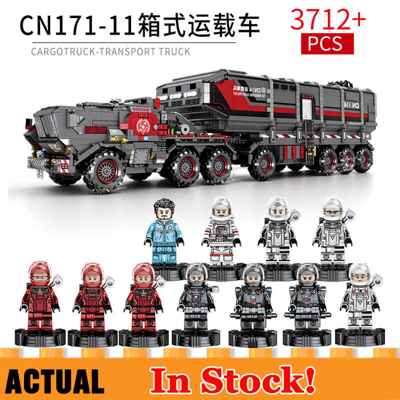New Military Special Forces Soldiers Carrier vehicle Truck Compatible Lego SWAT Technic Car Building Blocks Kids Toys