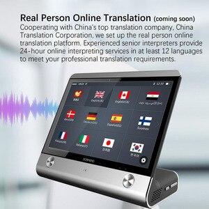 Image 5 - 8 pouces haut de gamme AI commercial intelligent traducteur de voix instantanée en temps réel traducteur de langues vocales OTA mise à niveau hôtel salle de réunion