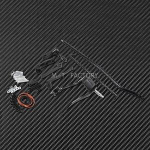 Image 4 - مجموعة وصلات ذراع التحكم الأمامية للدراجات النارية ، لـ Harley Dyna 2006 2017 Low Rider Fat Bob Street Bob Wide Glide FXDF