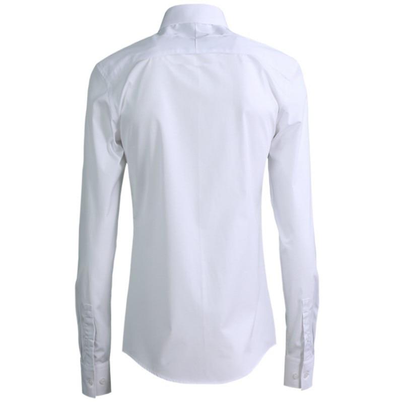 2020 New Harajuku Shirts Man Embroidery Slim Fit Square Collar Long Sleeve Shirts Men Casual Fashion High Quality Dress Clothes