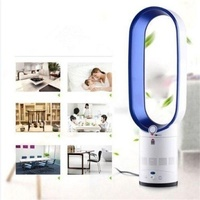 16 Inches No blade Fan Bladless Floor standing Fan Air Purifing Remote Control Electric Negative Ion Purifying Fan
