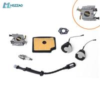 Carburetor Carb Set Fuel line,Fuel Cap,Air filter,Fuel filter,For Stihl MS200T MS200 Chainsaw Chain Saw